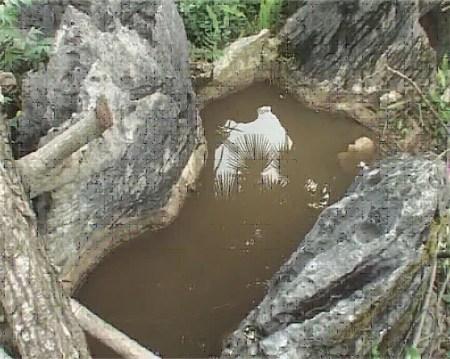 高清大山峡饮用水桶图片