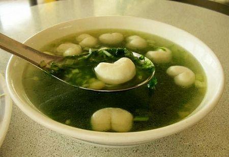 海菜芋头汤