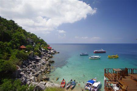 泰国南园岛 蔚蓝色的恋恋风情