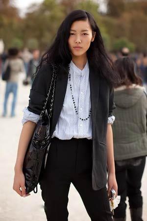 国际超模刘雯:为成功而穿衣图片