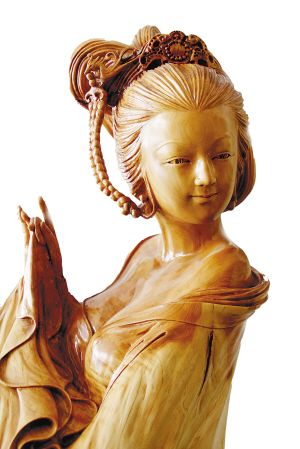 昆明高古文化开办木雕艺术展