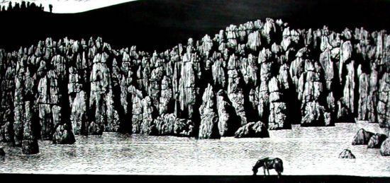 仙女湖版画