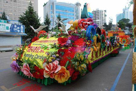 万特龙举办昆明狂欢节