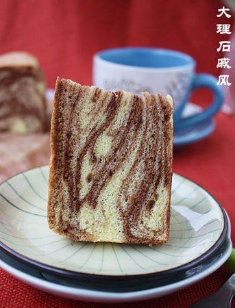 蛋糕的花纹是不是很像大理石