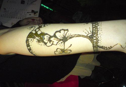 体验印度风情 海娜手绘