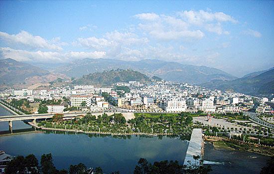 云南临沧市区风景区