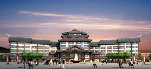 游客接待中心设计图展示