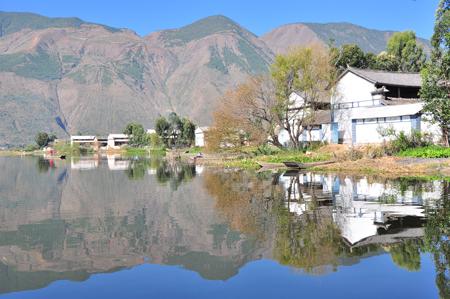 洱源西湖已申报评定为国家aaa级风景名胜区