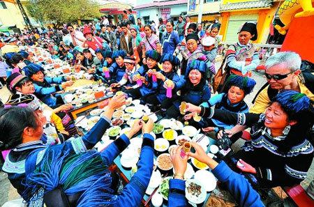 节日间长街宴
