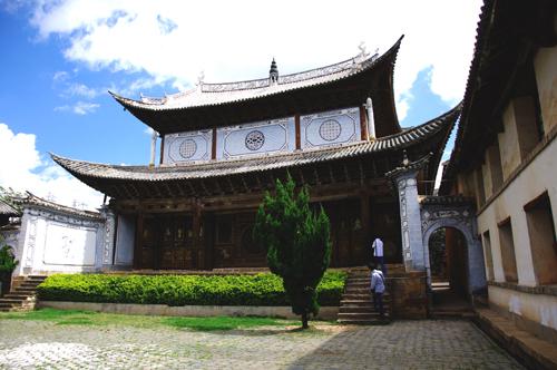 东北古建筑 结构
