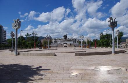 开幕式广场