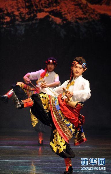 云南迪庆藏族自治州歌舞团开始台湾巡演