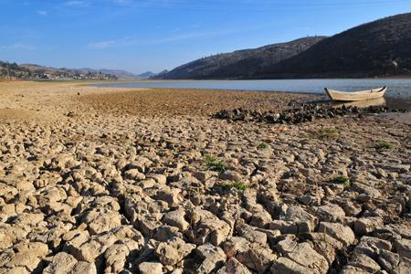 可蓄水423万方的小屯水库,现在只有7万方在....