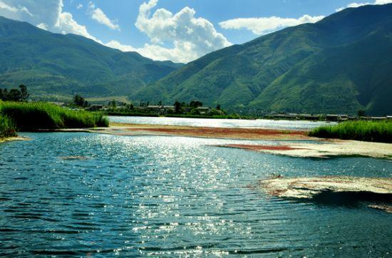洱源西湖风景名胜区位于