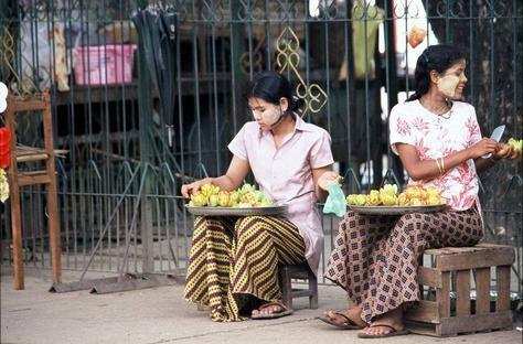 缅甸妇女的生活
