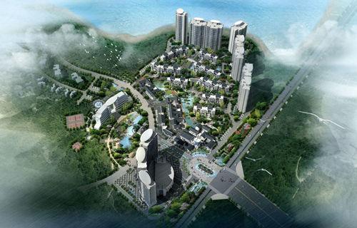 现代岛屿模拟图