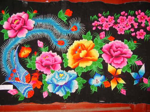 致 瑰丽奇葩 彝族刺绣图片
