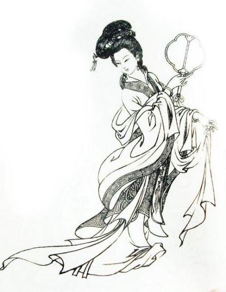 小班中秋简笔画