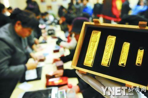 """北京很多市民都是多年连续买贺岁金条的""""铁杆儿""""收藏者"""