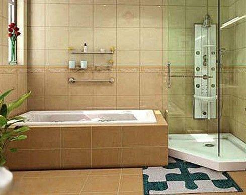 厕所 家居 设计 卫生间 卫生间装修 装修 489_388