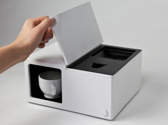 小巧的咖啡机设计