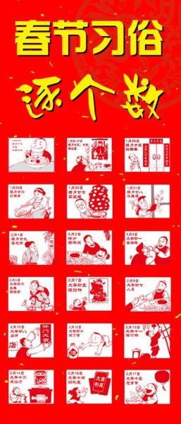 春节习俗逐个数