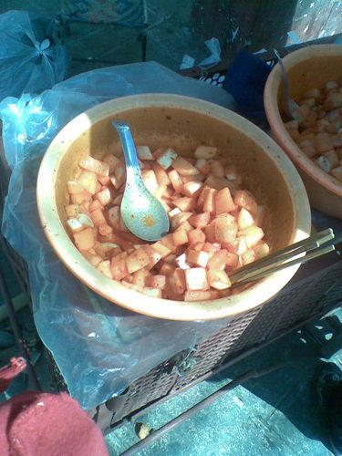 解馋小吃酸萝卜