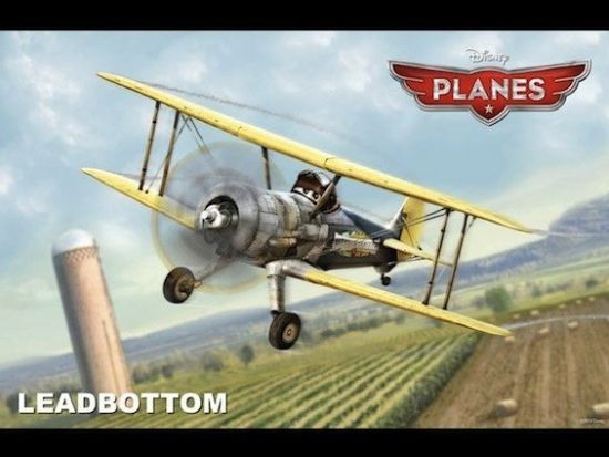 迪士尼动画新作《飞机总动员》