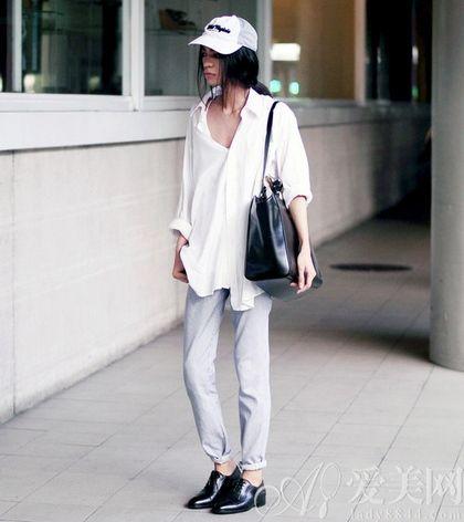 微胖女孩穿衣搭配 长裤搭配显瘦法则 尚品热卖