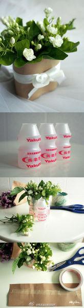 纸叠花瓶全步骤图