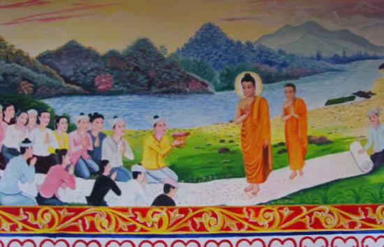神秘的傣族佛寺壁画与传说