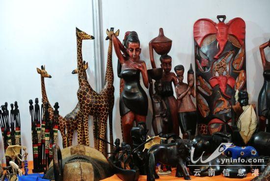 非洲动物工艺品
