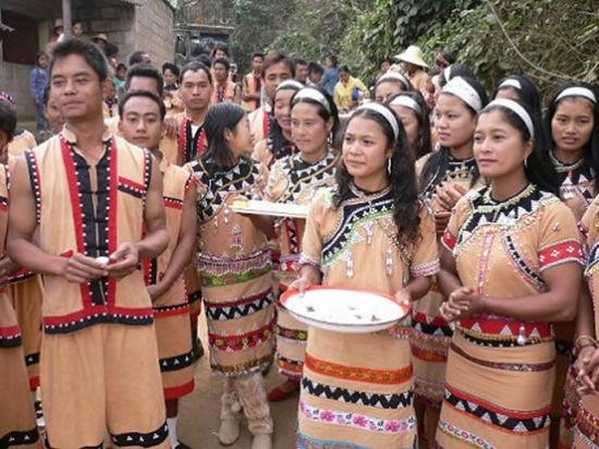 云南少数民族网   佤族的婚礼