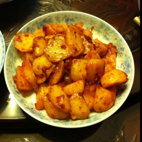 腐乳土豆(图片来源:下厨房网)
