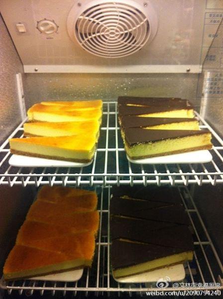 榴莲芝士蛋糕(图片来源:幸福厨房)