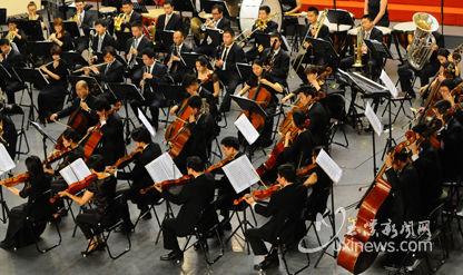 上海爱乐乐团给聂耳故乡人民带来一场音乐的盛宴 玉溪新闻网配图xxww