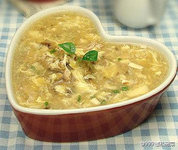 家常酸辣汤(图片来源:999道私房菜)