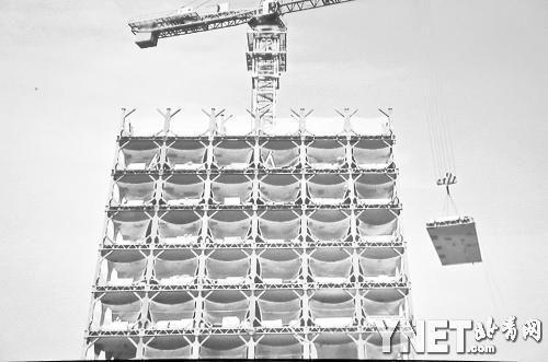 """远大集团""""搭积木""""建楼。(图片来源:资料图)"""