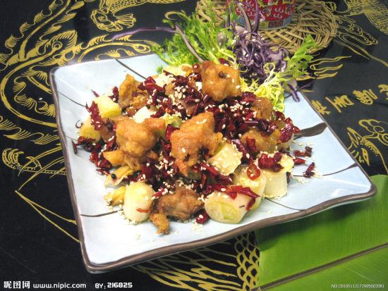 辣仔鸡(图片来源:昵图网)