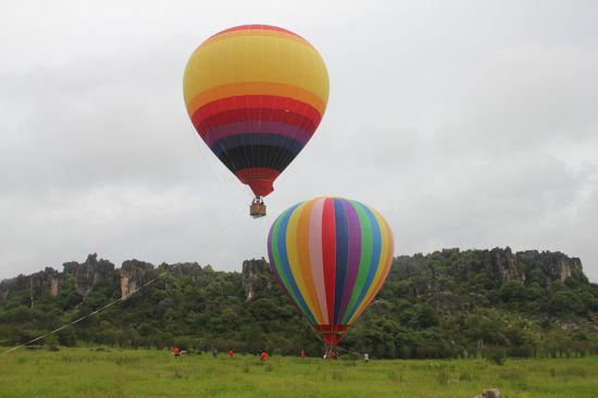 热气球给游客全新体验