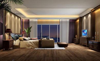卧室装修效果图;