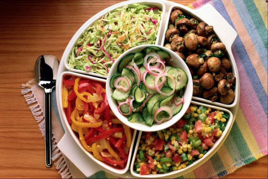 健康晚餐(图片来源:北京广播网)