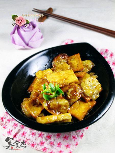 香蕉豆腐(图片来源:美食杰)