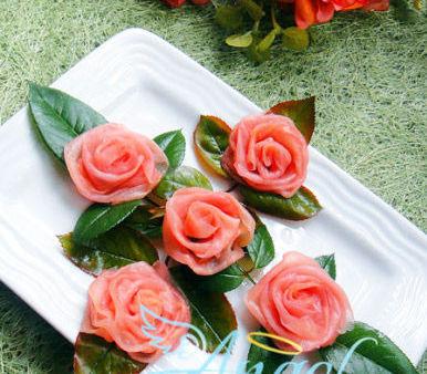 玫瑰子姜(图片来源:美食杰)