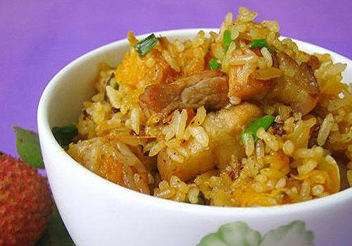 南瓜焖饭(图片来源:中文百科在线)