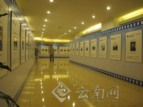 作品展示区。