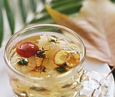 药茶(图片来源:鲁中网)