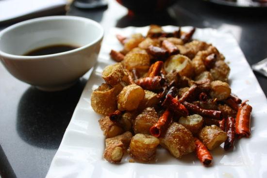 香脆牛肠(图片来源:新浪网)