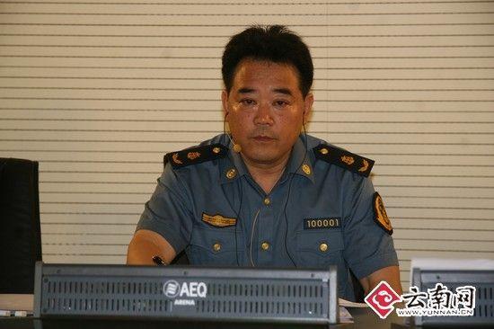 云南省公路路政管理总队总队长陈跃