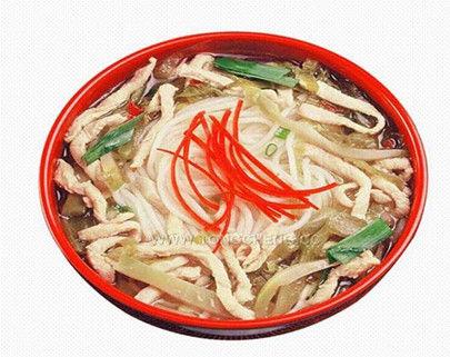 鸡汤米线(图片来源:同城消费网)